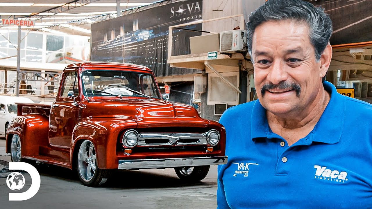 Remplazo de chasis y restauración de una camioneta F-100   Mexicánicos   Discovery Latinoamérica