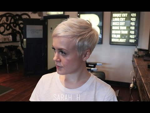 How I Get My Haircut / Michelle Williams Inspired Pixie Cut