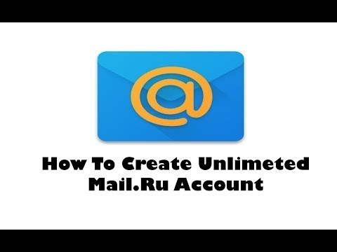 How to create Unlimited Mail.ru account