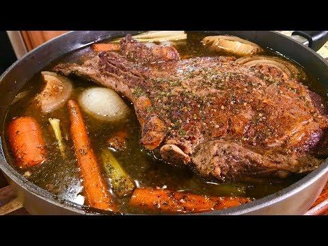 Braised Cowboy Steak