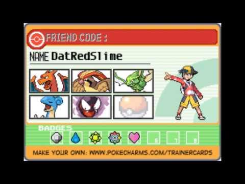 My Pokemon team kanto/Fire Red