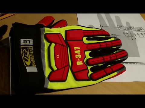 Ringers Rescue Gloves R 347 for Firefighter auto extrication