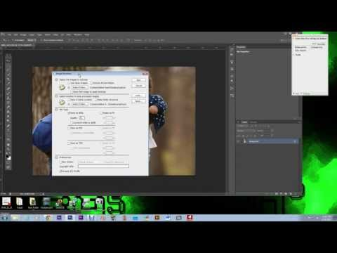 Convert Multiple Files to PSD,TIFF,JPEG PhotoShop Image Processor Tutorial