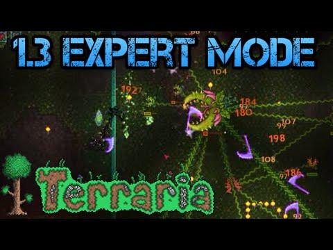 [42] Terraria 1.3 Expert Mode | Plantera, Terrablade & Ankh Shield (Let's Play)