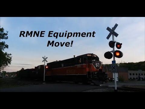 Chasing A RMNE Equipment Move Around Waterbury, CT 5-20-18