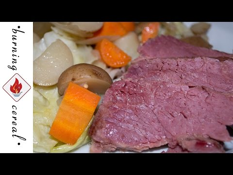 Slow Cooker Corned Beef and Cabbage - St Patricks Day RECIPE