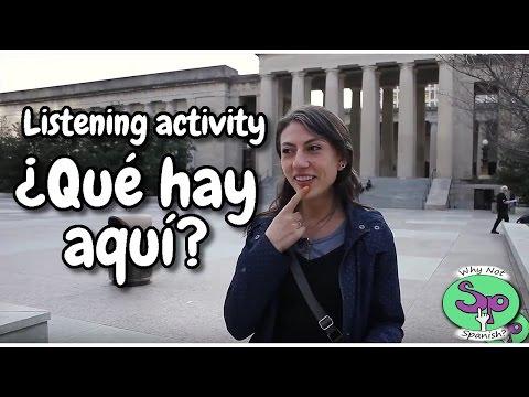 Spanish listening activity: En la ciudad || In the city (2/3)