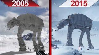 Comparison   Battlefront 2 (2005) vs. Battlefront (2015)   ULTRA   GTX 970