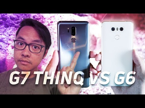 LG G7 vs LG G6 Quick Look