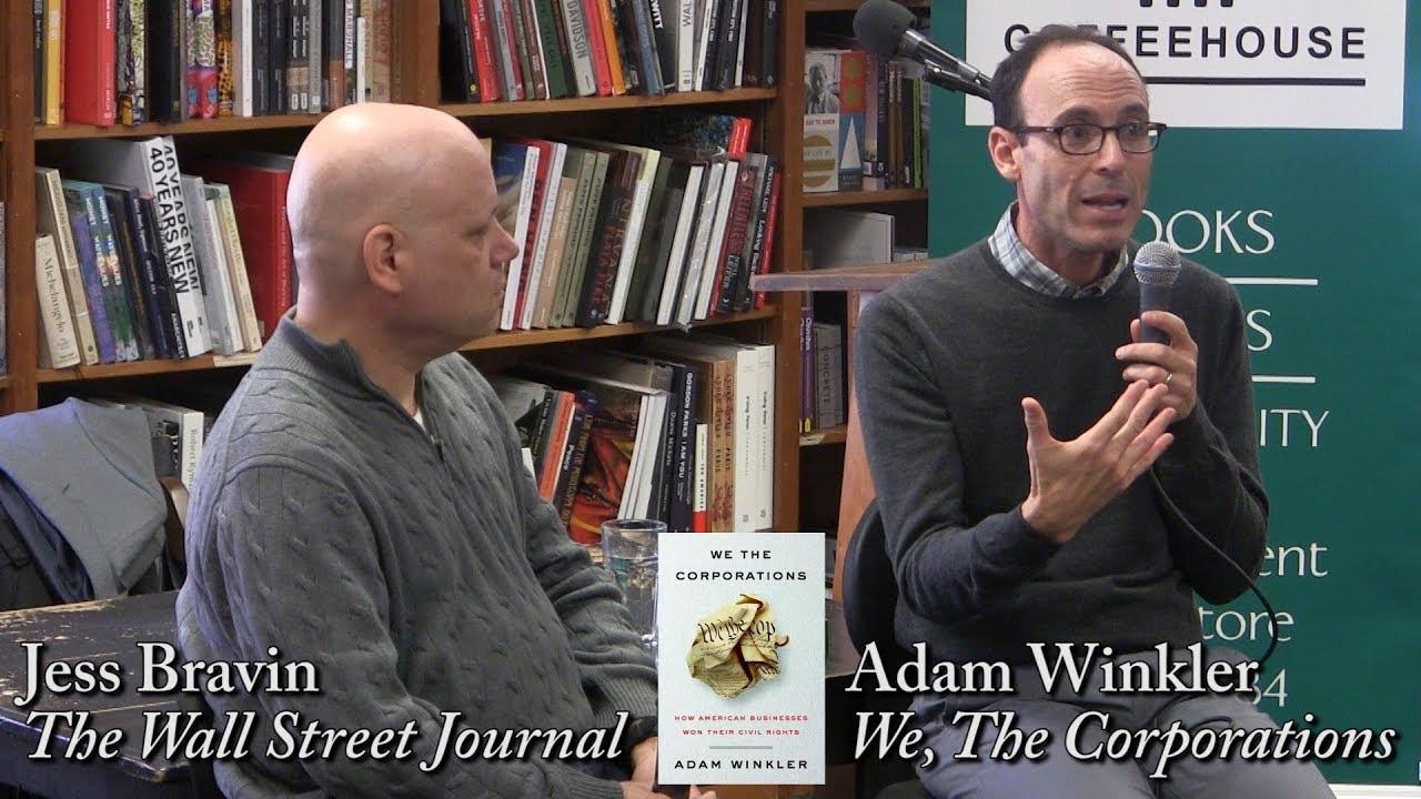 """Adam Winkler, """"We the Corporations"""""""