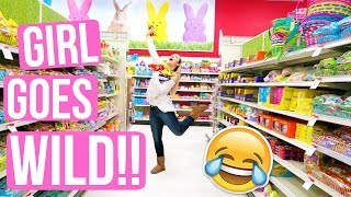 GIRL GOES WILD IN TARGET!!!