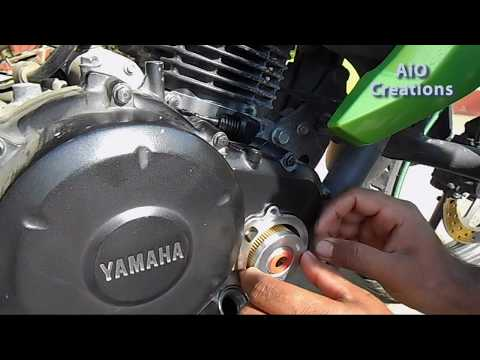 Bike periods  DIY motorcycle engine oil replacement