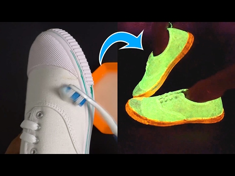 How to Make Glowing Shoes at Home