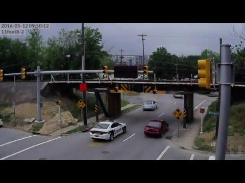 New warning signage at the 11foot8 bridge