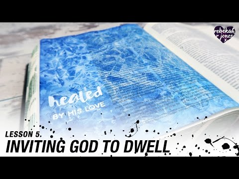 Learn A Watercolor Texture Technique - Heaven Is Calling Lesson 5