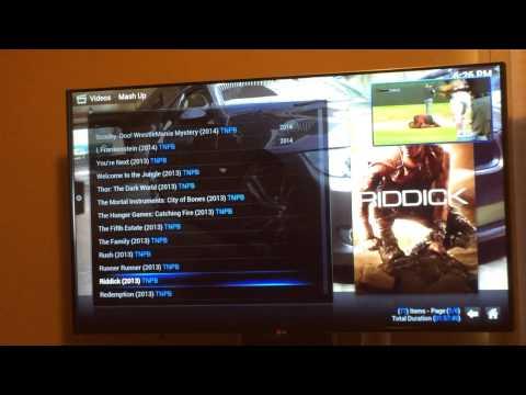 XBMC on LG G3 Tv
