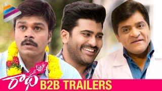Radha Movie Back 2 Back Trailers   Sharwanand   Lavanya Tripathi   Aksha   #Radha   Telugu Filmnagar