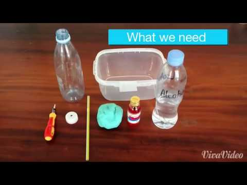 How to make HOMEMADE THERMOMETER