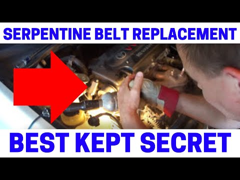 How To Replace Your Serpentine Drive Belt The Easy Way