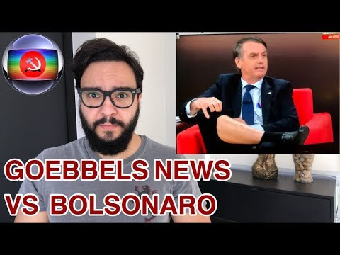 BOLSONARO NA GLOBO NEWS EM 1 MINUTO!