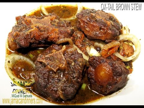 OXTAIL BROWN STEW