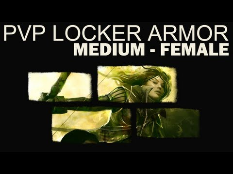 Guild Wars 2 - PvP Locker Armor - Female - Medium