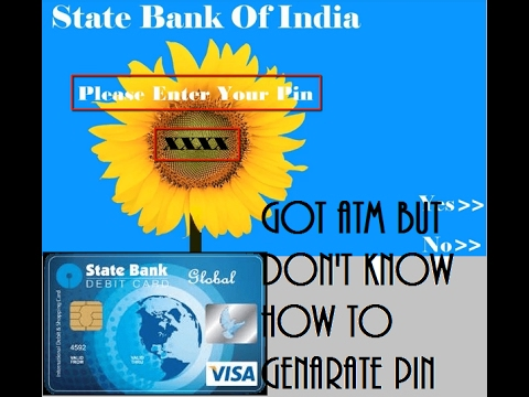 How to Generate SBI new ATM Pin by SMS