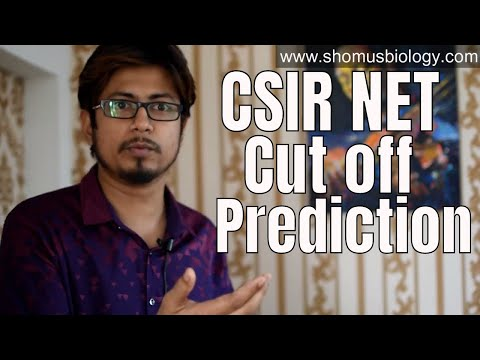 CSIR NET cut off prediction | How to predict CSIR NET JRF and LS cut off ?