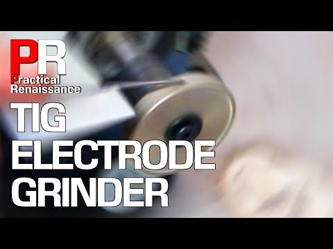 SCRAP PILE CHALLENGE: Diamond TIG Tungsten Grinder!