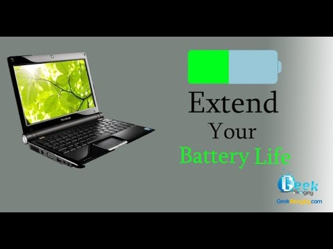 How to Increase Your Laptop's Battery Life !