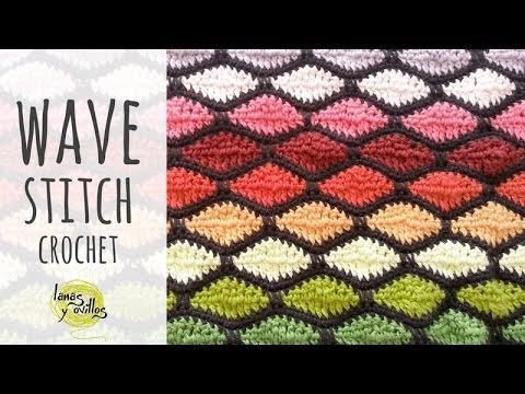 Tutorial Crochet Wave Stitch