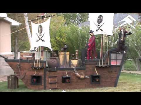 Halloween 2010 Pirate ship