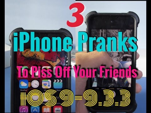 Best 3 iPhone/iPod/iPad Pranks To Annoy Your Friends(running ios 9+)