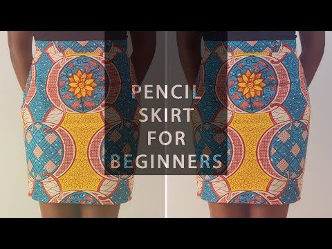 Pattern Drafting for Beginners – Skirt Block and Tapered Pencil Skirt • Elewa