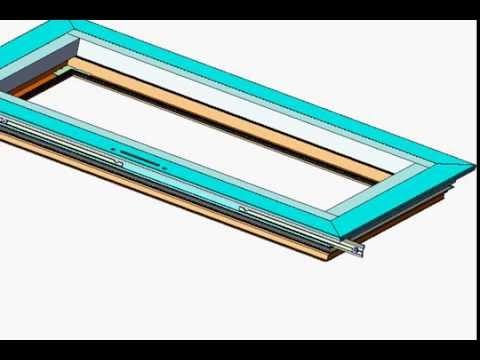 How to make aluminum window door