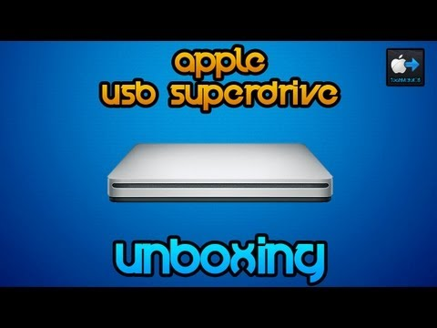 Apple USB Superdrive | Unboxing