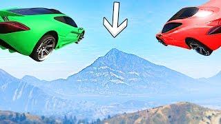 MOST IMPOSSIBLE CAR FLIGHT! (GTA 5 Funny Moments)