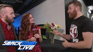 Maria & Mike Kanellis show Sami Zayn that love hurts: SmackDown LIVE, July 11, 2017