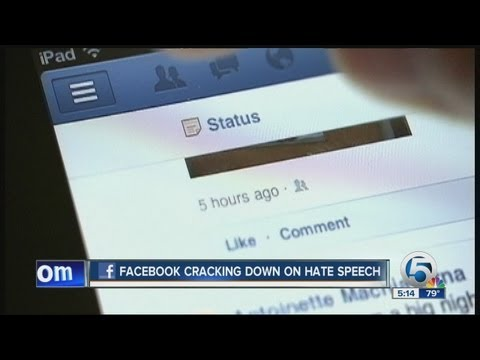 Facebook cracking down on hate speech, verifies pages