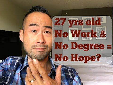 No Education, No Work Experience, No Hope?