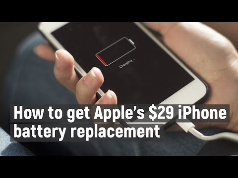 How to get Apple's $29 iPhone battery replacement