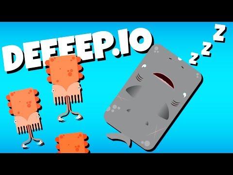 The Amazing Sleeper Shark! - Deeeep.io Gameplay