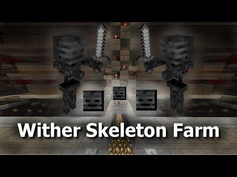 Minecraft Tutorial - Wither Skeleton Farm