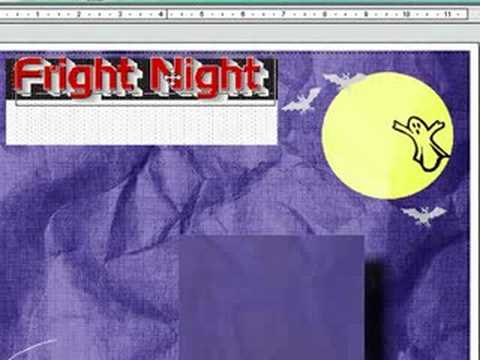 Print Master - How to Make Digital Scrapbooking Page Layouts
