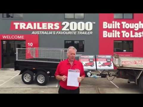 Safe Operating Procedures for the Trailers 2000 Hydraulic Tipping Trailer