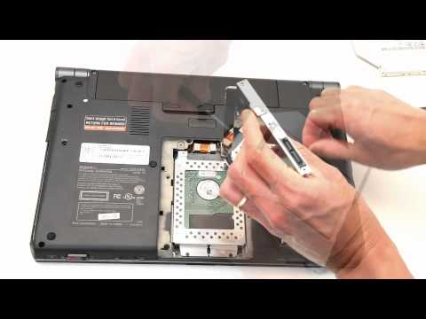 Add a 2nd HDD or SSD to Sony VAIO S Series laptop