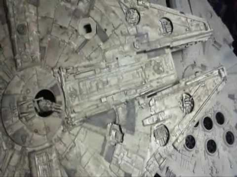 Millennium Falcon AMT & Fine Molds.  Decals and wash