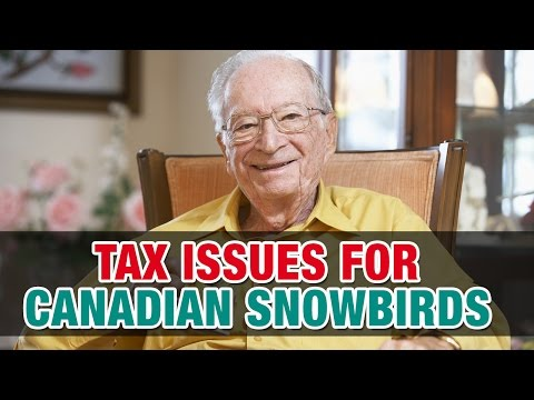 Tax Consequences for Canadian Snowbirds Who Travel to the U.S - Tax Tip Weekly