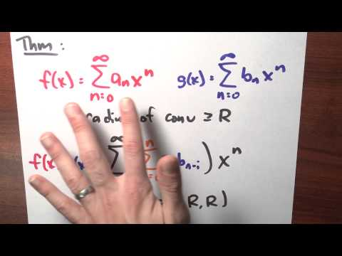 What happens if I multiply two power series? - Week 5 - Lecture 11 - Sequences and Series