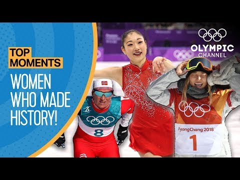Top 5 Women who made History at PyeongChang 2018 | Top Moments